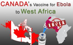 Canada to donate vaccine for Ebola to West Africa